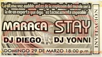 Fiesta Stay@La Maraca «LIVE» 29-03-1998 (Dj Ego Vs Dj Yoni)