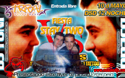 Fiesta Stay 2@Tribal Dance Club — CD REGALO — Mix By Dj Yoni — (10-05-03)