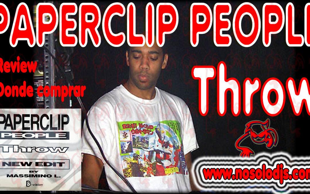 Presentación disco 34: Paperclip People – Throw «SONIDO VINILO»