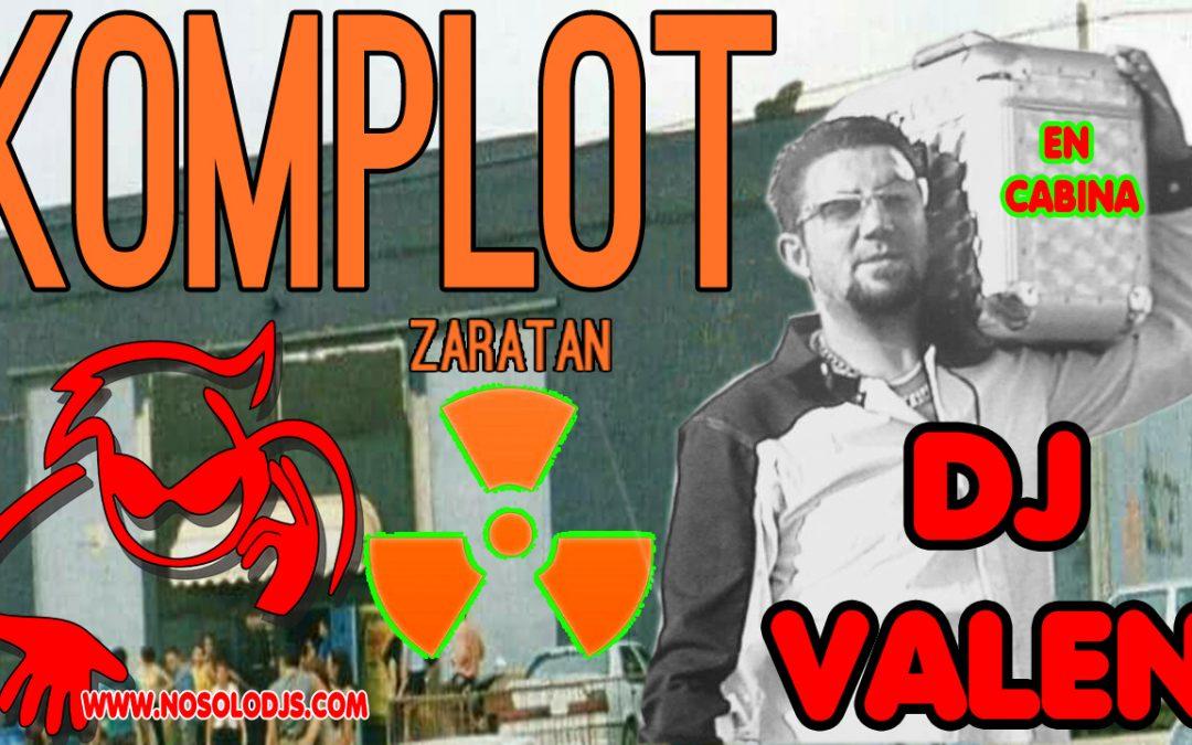 Sesión de Dj Valen en Komplot Zaratán (20-02-2000)
