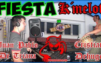 Juan Pablo De Triana & Cristian Dehugo — Fiesta k´melot@Sala Factory 10-09-05