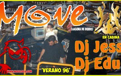 Sesión de la Discoteca «MOVE» Verano 1996